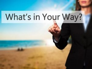 Patient testimonial image of whats in your way
