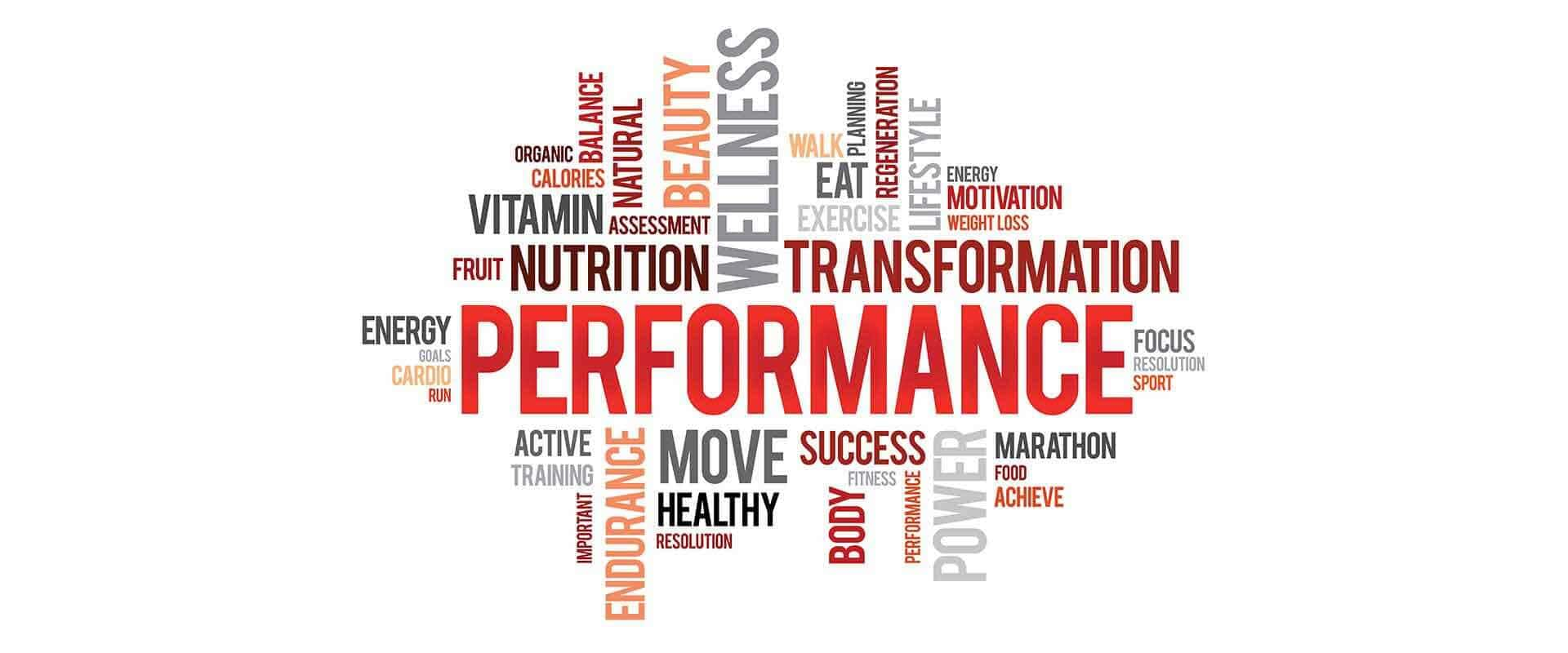 Performance from nutrition
