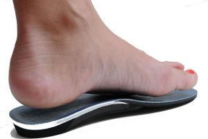 Orthotic image for heel pain