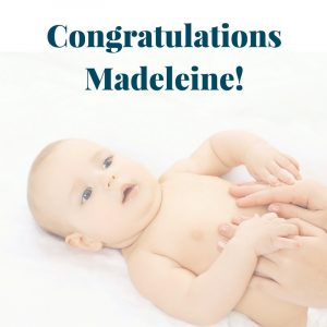 Congratulations Madeleine paediatric physiotherapist