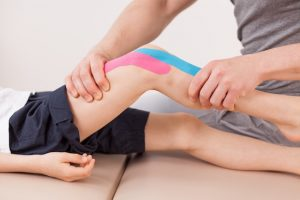 Kinesiology Tape for osgood schlatters