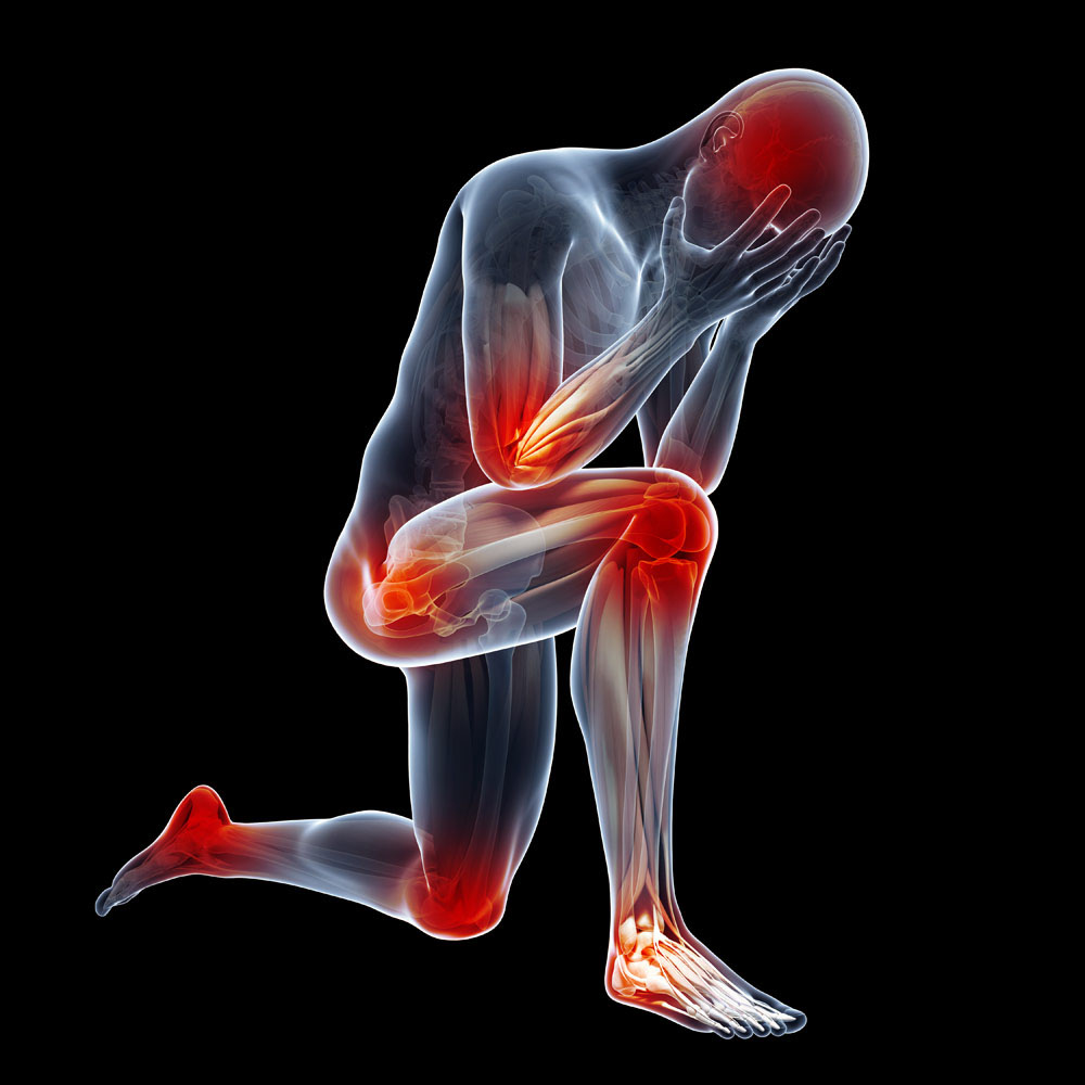 Joint pain can be caused by anything from an injury to infection to illness
