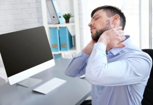 Headache and neck pain on the computer