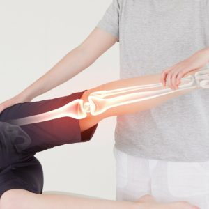 Joint flexibility and range of motion can increase with soft tissue therapy