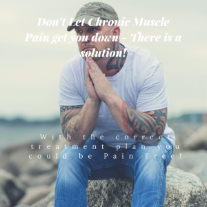 With the correct treatment muscle pain can be a thing of the past