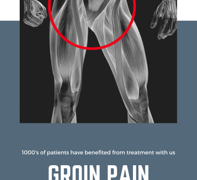 Help with groin pain