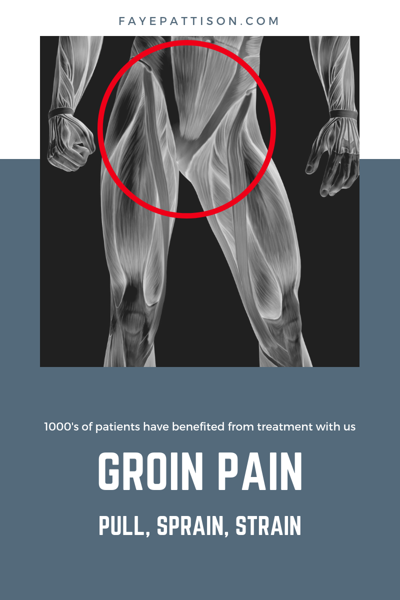 how to help groin pain