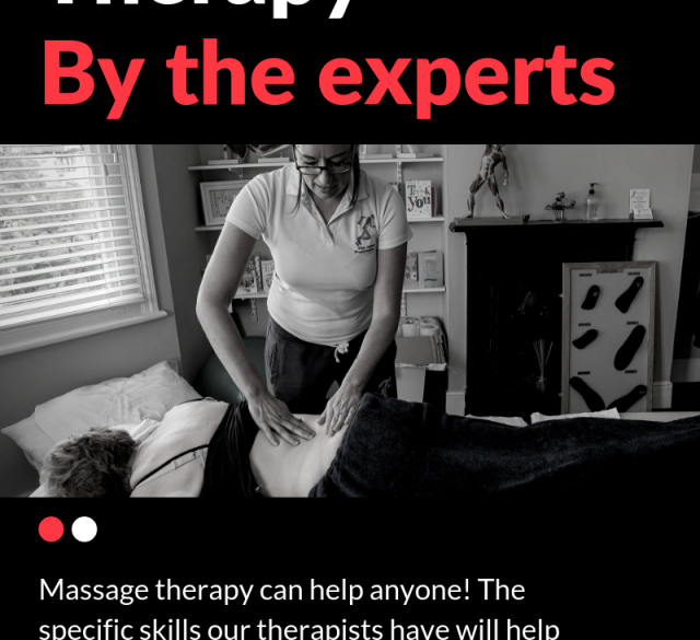 Massage therapy can help anyone