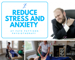 Massage therapy can reduce stress and anxiety