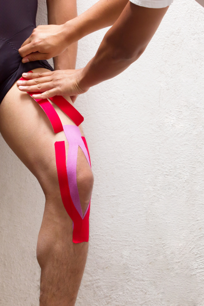 Rocktape for LCL injury