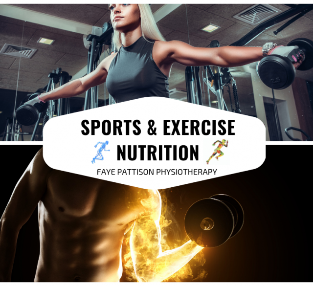 Sports & Exercise nutrition